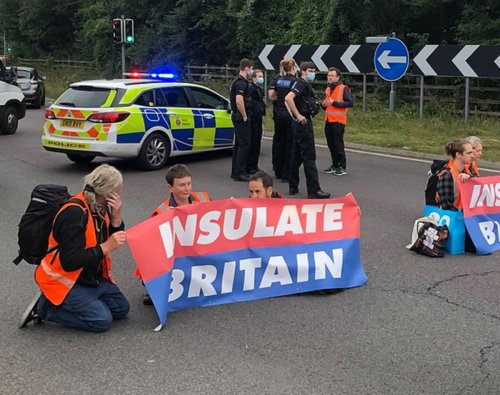 Climate activists disrupt M25 traffic for third time in a week