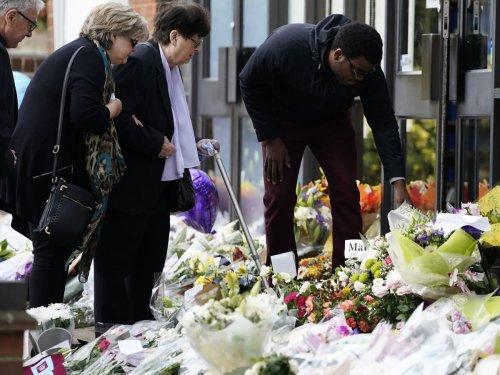 David Amess' widow visits scene of Tory MP's murder – follow updates live