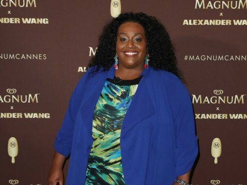 Alison Hammond recreates then-and-now photographs with son