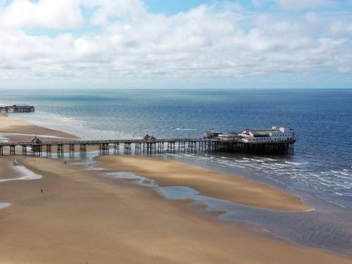 Man drowns after jumping into sea in Blackpool to save stranger