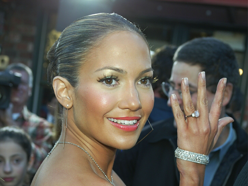 Jennifer Lopez's pink diamond engagement ring from Ben Affleck is reportedly worth nearly $12m