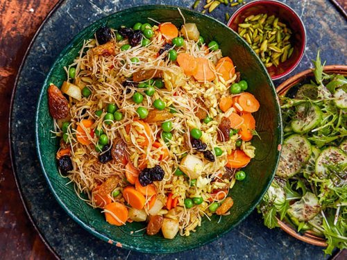 This Middle Eastern twist on an Indian classic will become your new meat-free midweek staple