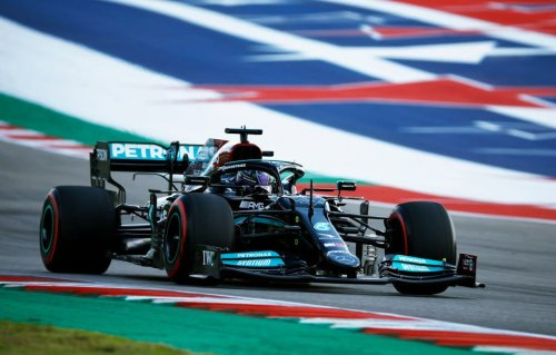 Lewis Hamilton sixth in final practice for United States Grand Prix