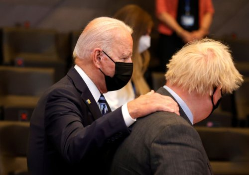 Johnson 'to get custom tricycle for Wilfred' to match gift from Biden