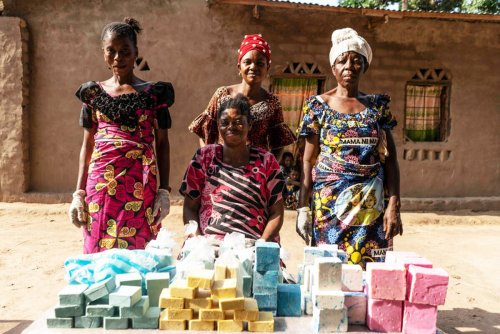 DRC: How soap-making is bursting the bubble of conflict