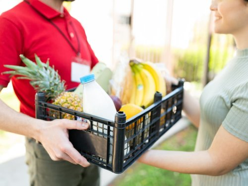 When do Christmas supermarket delivery slots open?