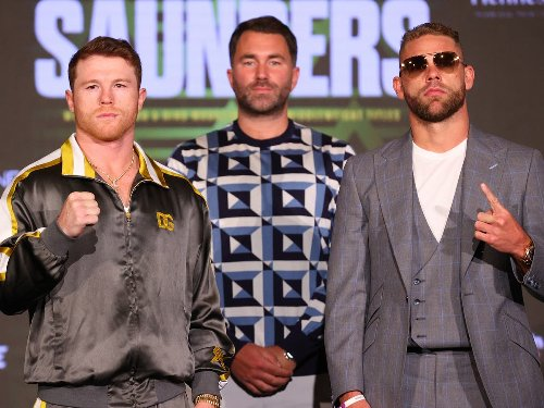 What time does Canelo vs Saunders start in the UK?