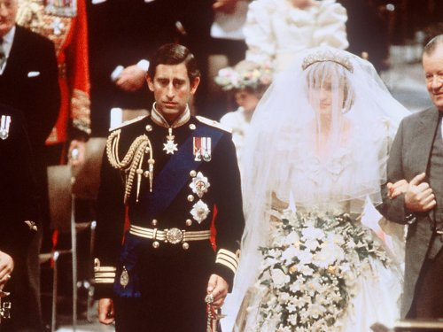 Princess Diana's hidden message to Prince Charles on her wedding shoes