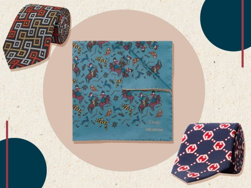 7 best men's ties and pocket squares for adding the final flourish