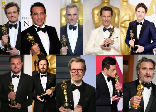A list of the last 10 Best Actor winners has sparked a debate about the Oscars