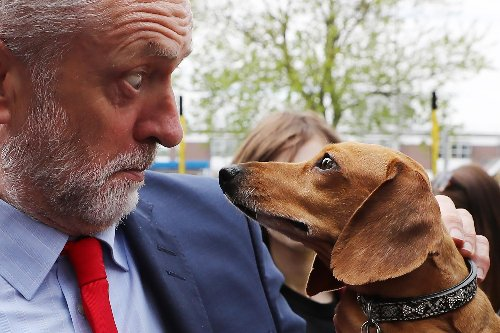 Angela Rayner claimed she was 'photobombed' by Jeremy Corbyn - now people are sharing their own