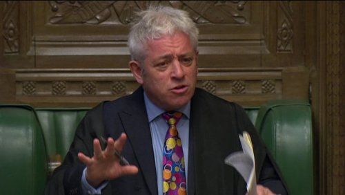 Bercow vows to stop Tory front-runner suspending parliament to force through no-deal Brexit