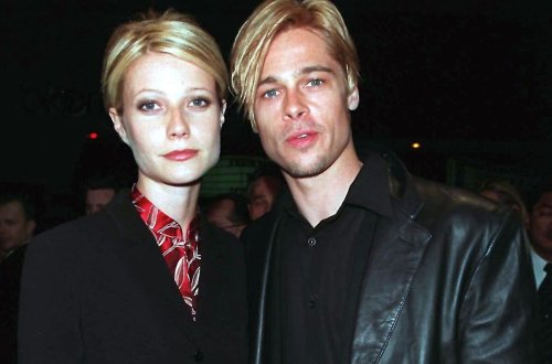 Gwyneth Paltrow explains why she and Brad Pitt had the same hairdo
