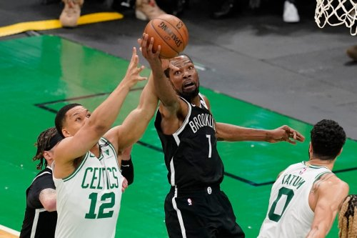 Brooklyn Nets close in on series win as Big Three breeze past Boston