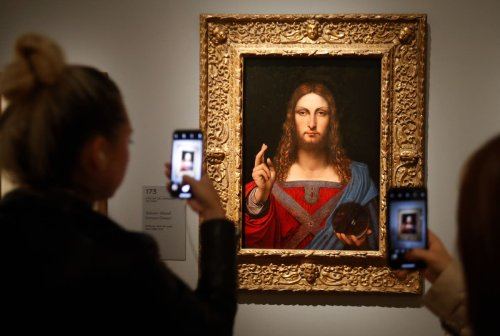 Why was the most expensive artwork in history bought and then hidden?