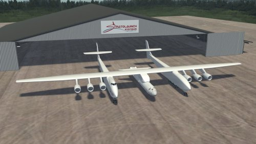 Stratolaunch: World's biggest plane with 6 Boeing 747 engines completes successful three-hour test flight