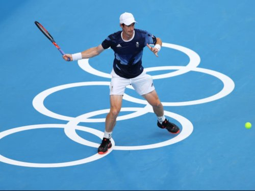 When is Andy Murray playing in the Olympic men's doubles?