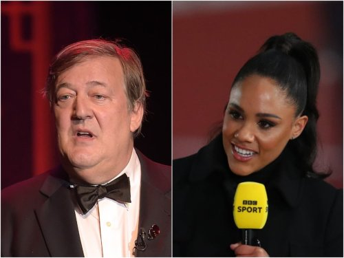 Stephen Fry angrily defends Alex Scott from claims her accent is 'spoiling' Olympics coverage