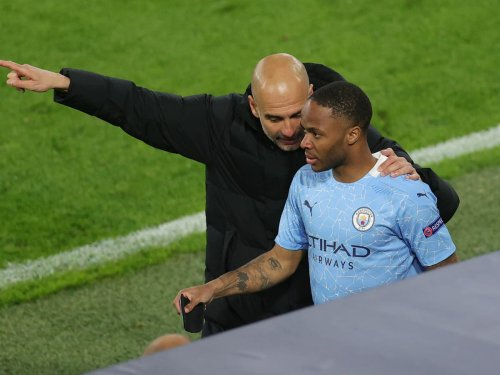 Pep Guardiola explains why Raheem Sterling has been dropped from Manchester City line-up