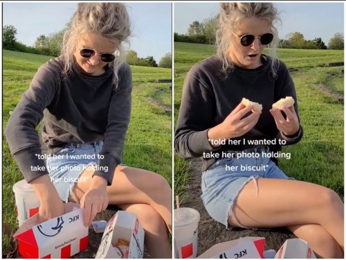 Man proposes by hiding engagement ring in KFC meal – and TikTok loves it