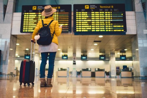 What time is the travel announcement expected today?