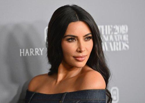 Kim Kardashian corrects Ellen DeGeneres after she assumes son's chain is 'fake'
