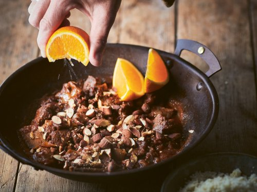 Lamb and date tagine: An easy, freezable meal to take camping