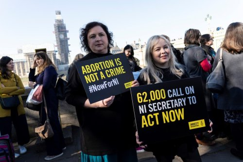 Women's access to abortion in Northern Ireland on 'cliff-edge' due to government inaction