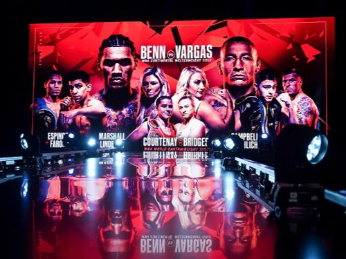 Benn vs Vargas - LIVE: Latest updates and undercard results