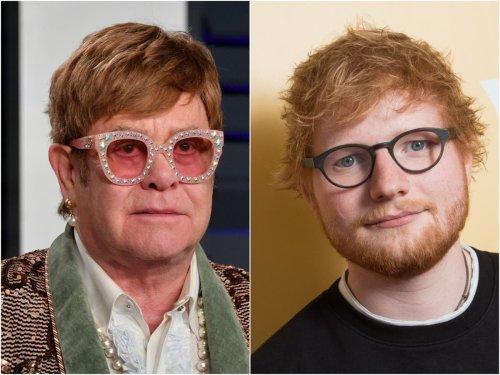 Elton John calls Ed Sheeran 'f***ing big mouth' for ruining Christmas song news