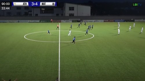 Footballer seals hat-trick on club debut with last minute halfway-line equaliser