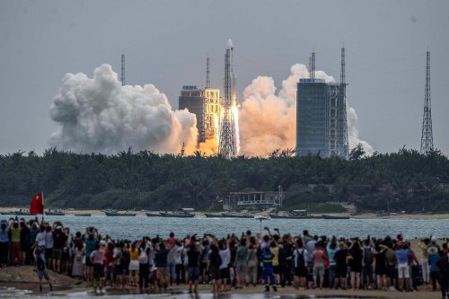 Chinese paper gives update on out-of-control rocket tumbling towards Earth
