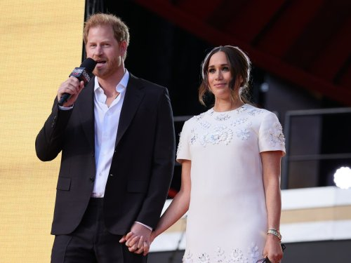 Prince Harry and Meghan Markle call for vaccine equity at Global Citizen Live event