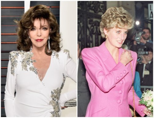 Joan Collins says Princess Diana was 'very vulnerable'