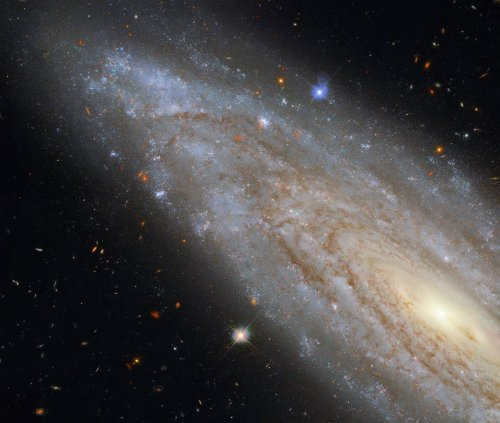 Hubble Space Telescope spots distant galaxy with 'fascinating secret'