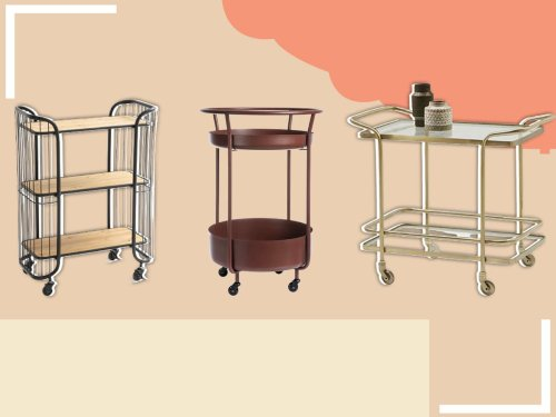 9 best bar carts for entertaining at home
