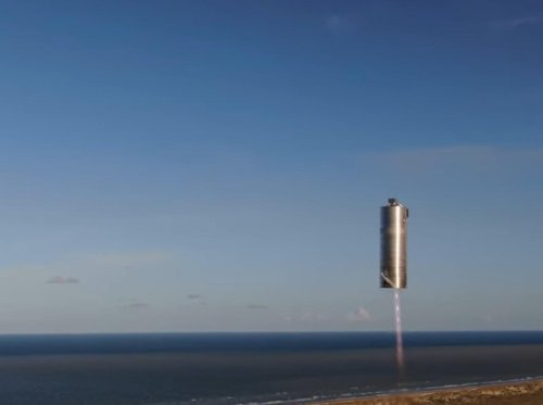 Elon Musk says 'Mars is looking real' after SpaceX launches and lands Starship craft
