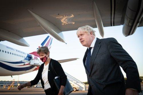 Boris Johnson condemns NI protocol - follow live