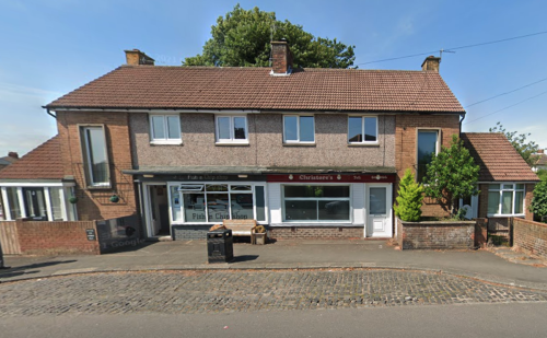 Man 'shoots at couple with air gun' after they fenced off home next to chip shop