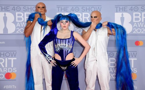 Union jack dresses and giant pigtails: Take a look back at the most outrageous Brita Awards outfits