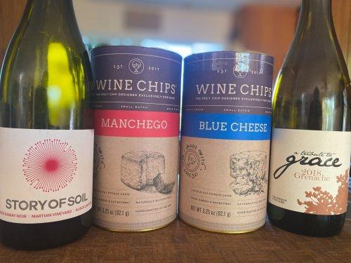 Pairing Wine Chips with Santa Barbara Bottles - The Santa Barbara Independent