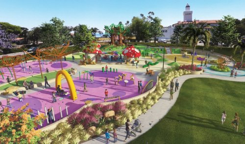 Dwight Murphy Plan Includes Universally Accessible Playground - The Santa Barbara Independent