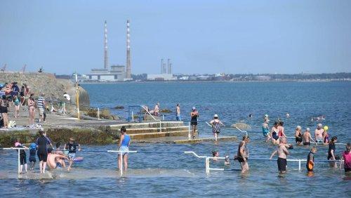 Swim ban for popular Dublin bathing spot