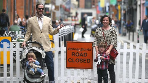 Work begins to pedestrianise four key streets in Dublin city centre