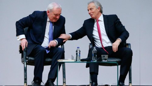 Tony Blair warns London government they cannot walk away from Brexit deal on Northern Ireland
