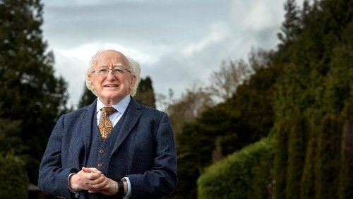Speeches, pooches and cuddly toys: the many sides of President Michael D Higgins at 80