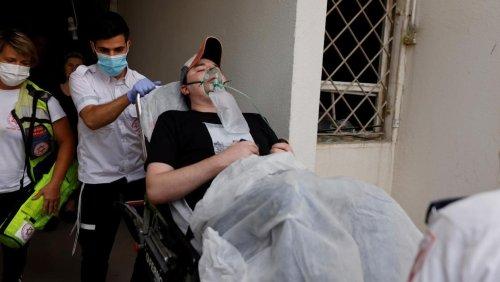Scenes of destruction in Gaza Strip as rocket fire met with Israeli strikes