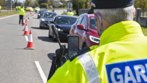 Gardaí arrest drunk driver and seize two cars while demonstrating new roadside detection app