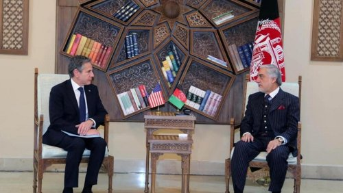 Biden's secretary of state Antony Blinken makes surprise visit to Kabul as US bids to reassure wary Afghans over withdrawal of troops