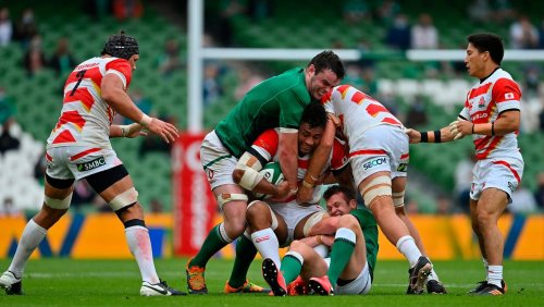 'That Shizuoka day was a bit of a motivation for us' - James Ryan hails Ireland's Japanese revenge mission